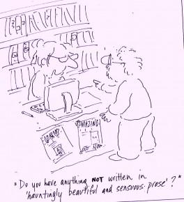 Haunting prose